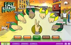 When you play Fast Hands online instant win Game, you get all of the fun of a simple game of rock, paper, scissors without the need for conflict and without the hurt feelings of a loser. Even better is the potential to money, lots of Best Casino Games, Play Casino, Online Casino Games, Online Games, Instant Win Games, Win Money, Free Slots, Hurt Feelings, Play Online