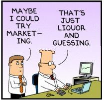 Is It All Liquor and Guessing? Marketing Humor