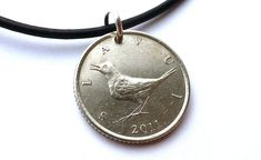 Your place to buy and sell all things handmade Coin Jewelry, Jewelry Necklaces, Nightingale Bird, Bird Necklace, Sliding Knot, Drawstring Pouch, Beautiful Songs, Me Clean, Leather Necklace