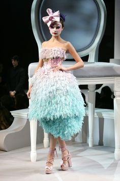 Défilé Christian Dior Haute Couture Printemps / Été 2007
