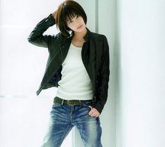 Ai Hashimoto, Sexy Women, Actresses, Blazer, Denim, Lady, Casual, Drawing Practice, Clothes Women