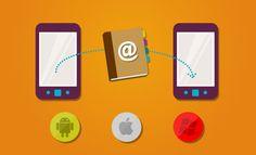 Cómo pasar la agenda de contactos de un móvil a otro