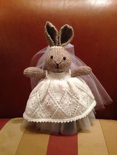 Ravelry: RahniJ's Wedding Bunny Dress