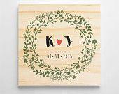 Regalo de boda personalizado. Signo de boda personalizado. Signo de boda de madera. Regalo de aniversario de boda, decoración de boda rústica. Decoraciones de la boda
