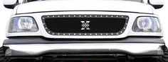 1999-2003 Ford F-150 X-METAL Series - Studded Main Grille - ALL Black