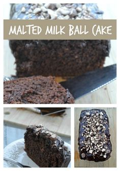 Malted Milk Ball Cak