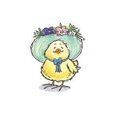 Stamp Chicky Spring