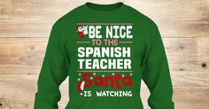 If You Proud Your Job, This Shirt Makes A Great Gift For You And Your Family.  Ugly Sweater  Spanish Teacher, Xmas  Spanish Teacher Shirts,  Spanish Teacher Xmas T Shirts,  Spanish Teacher Job Shirts,  Spanish Teacher Tees,  Spanish Teacher Hoodies,  Spanish Teacher Ugly Sweaters,  Spanish Teacher Long Sleeve,  Spanish Teacher Funny Shirts,  Spanish Teacher Mama,  Spanish Teacher Boyfriend,  Spanish Teacher Girl,  Spanish Teacher Guy,  Spanish Teacher Lovers,  Spanish Teacher Papa,  Spanish…