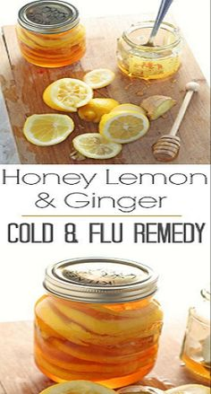 Honey Ginger Lemonade Drink For Treating Colds And To Soothe A Sore Throat