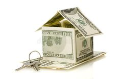 Photo about Money house on white isolated. Household Budget, Working People, Affordable Housing, Bookends, Royalty Free Stock Photos, Decorative Boxes, Money, Households, Apartments