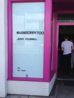 Jerry O'Connell Spoofs Shia LaBeouf In Competing Pop-Up Art Exhibit