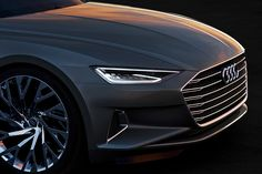 AUDI prologue concept presented in LA hints at brand's future design direction
