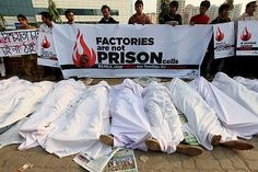 Sweatshops in Bangladesh - sewed for  JC Penney, Target, Abercrombie and Fitch,H,Walmart and more.