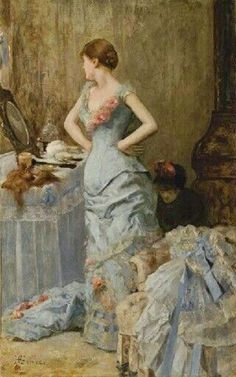 Touch of Color: ~ Henri Gervex ~ French artist, 1852-1929