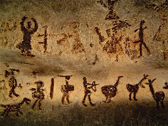 Ice Age Cave Paintings Altamira Spain      The Altamira paintings found in…