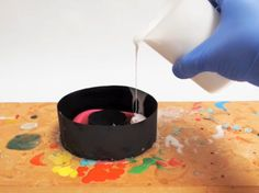 How to make a mold of your favorite bangle bracelets! I need to do this.