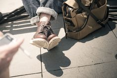 . shoes, 067 accessori, folk, men style, men fashion, filson bag, man bags, briefcases, boots