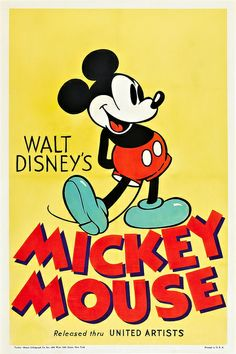 Theatrical poster for Mickey Mouse shorts.