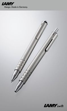 LAMY swift - Product Information and Writing Systems Luxury Pens, Pen Design, Pens And Pencils, Writing Instruments, Drawing Tools, Fountain Pens, Product Design, Swift, Stationary