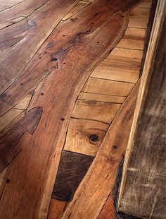 A Cherry Tree Floor and More Inside a 165-Year-Old Inn - Hardwood Floors Magazine