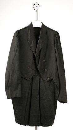 Coat (Tail Coat), 1860's