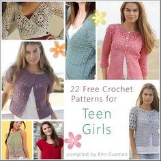Link Blast: 22 Free Crochet Patterns for Teen Girls   WIPs 'N Chains: