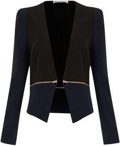 Zip Waist Jacket - Lyst
