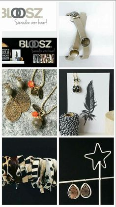 Blij! Vanaf zaterdag 5 december prachtige sieraden van bloosz gemaakt door Chantell De Bruin bij Van Elles. Kijk maar eens op http://www.bloosz.nl/ Bestellen kan via info@vanelles.nl. Chantell neemt het zaterdag dan mee. Vrolijke groet, Van Elles