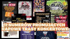 Rap gadanina #14 - 11 numerów promujących rapowe trasy koncertowe + konk...