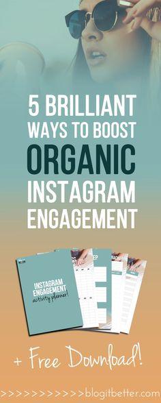 5 Fun Ways To Spark Interest Boost Engagement On Instagram Feed, Instagram Apps, More Instagram Followers, Instagram Marketing Tips, Online Marketing, Content Marketing, Media Marketing, Internet Marketing, Like Facebook