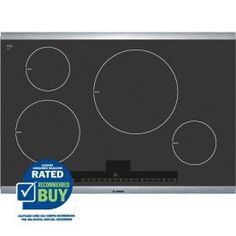 Bosch�500 Series 30-in Smooth Surface Induction Electric Cooktop (Stainless Steel)
