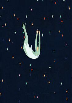 Delicada ilustración en movimiento | Enola