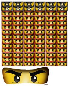 Ninjago Free Party Printables