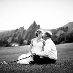 Golf Lovers Wedding at Arrowhead Golf Club! Photos by Randall Olsson Photography