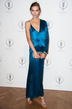 Kate Moss at Paris Fashion Week Spring 2013
