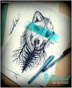 Ja ... 2015    #art #tat #tattoo #tattoos #tetovanie #original #tattooart #slovakia #zilina #bodliak #bodliaktattoo #bodliak_tattoo #wolf_tattoo #forest_tattoo #nature_tattoo #skull_tattoo