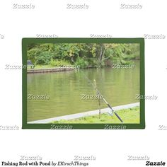 Fishing Rod with Pond Doormat