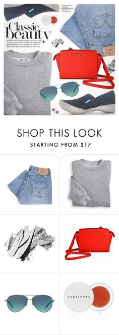 """""""Holiday Gift Guide: Your Squad"""" by regettacanoe ❤ liked on Polyvore featuring Levi's, Blair, Bobbi Brown Cosmetics, Michael Kors, Tiffany & Co., Herbivore, Marc Jacobs, giftguide, polyvoreeditorial and polyvoreset"""