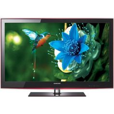 Samsung UN55B6000 55-Inch 1080p 120 Hz LED HDTV Ultra-slim 55-inch LED HDTV with full HD 1080p resolution for the sharpest picture possible. LED technology enables a true-to-life range of picture brightness; uses 40 percent less energy than conventional LCD TVs. InfoLink RSS feeds of news, weather and sports from your broadband connection. Inputs: 4 HDMI, 1 component, 2 USB, 1 Ethernet, 1 PC, 1 op... #Samsung #Television