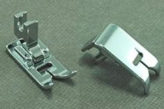 Low Shank Zig Zag Sewing Machine Presser Foot with Low Shank Adaptor - Fits all low shank Singer, Brother, Babylock, Viking (Husky Series), Euro-pro, Janome, Kenmore, White, Bernina (Bernette Series), New Home, Necchi, Elna and More!  My most used foot for applique and blanket stitches…