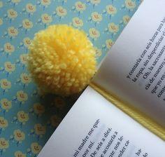 Punto de libro pompón de lana