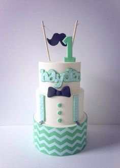 Little Man Cake  - Cake by Iced Creations