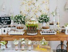 «{Inspiração} idéia para noivado ou até um mini wedding! Pic via Pinterest! #finabossa»