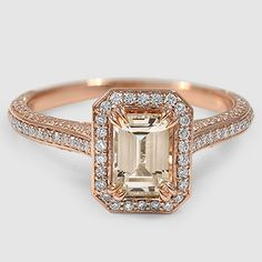 The Enchant Halo Diamond Ring