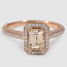 The Enchant Halo Diamond Ring