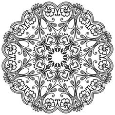Choose from 60 top Embellishment,Flower,Paisley Pattern stock illustrations from iStock. Find high-quality royalty-free vector images that you won't find anywhere else. Mandala Coloring Pages, Colouring Pages, Adult Coloring Pages, Coloring Books, Coloring Sheets, Zentangle, Trippy Drawings, Dot Work, Free Vector Graphics