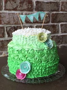 Birthday cake. Shower cake. Whatever cake. So cute.