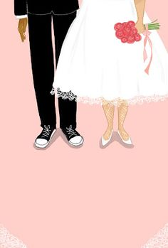 By Vanessa Brantley Newton Wedding, illustrations, love, life, marriage Black Marriage, Indian Marriage, Marriage Couple, Wedding Illustration, Couple Illustration, Marriage Cartoon, Islamic Cartoon, Arab Wedding, Marriage Certificate