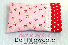 Last lesson we learned how to sew a doll pillow. Today we will learn how to sew a pillowcase with this free doll pillowcase pattern. This is the best part of all. Pillow cases that fit perfectly and also allow for fabulous finishing touches to the bedding for your child's favorite toys. They really fit so … … Continue reading →