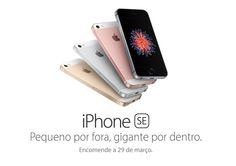 """iPhone SE não será um modelo """"low cost"""" em Portugal..."""